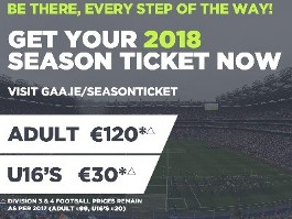 GAA Season Tickets (Intercounty)