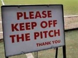 Main Pitch Closed