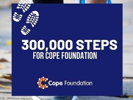 Cope Foundation 300,000 step challenge