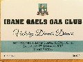 Ibane Gaels Dinner Dance