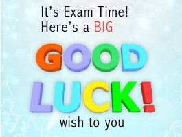 Best Wishes to Exam Students